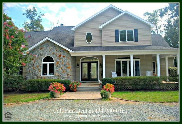 Luxury Country Homes For Sale In Scottsville VA