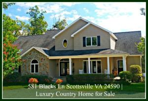 Scottsville VA Luxury Country Homes for Sale