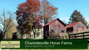 Horse Farm in Charlottesville VA