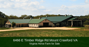 Horse Farms in Virginia