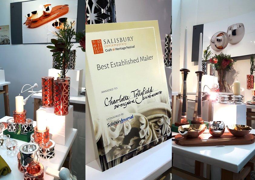 Charlotte Receives Best Established Maker Award at Salisbury