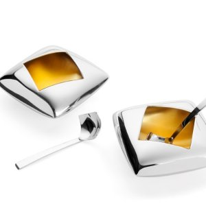 Condiment Bowls and Spoons