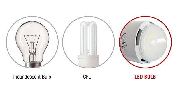 Difference Between Incandescent Led And Cfl Light Bulbs ...