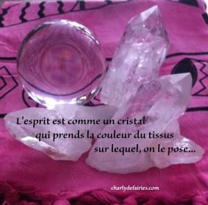esprit cristal