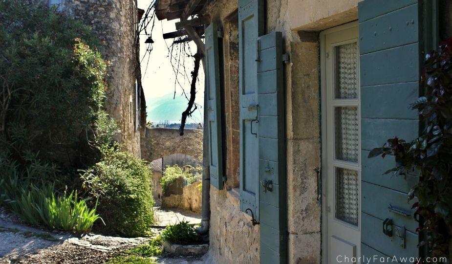 Mirmande village médiéval