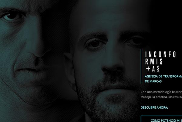 Inconformistas by Josef Ajram e Isra García | Diseño web