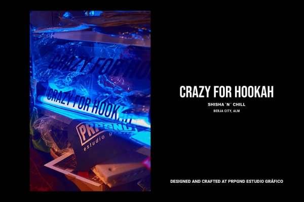 PRPGND Estudio Gráfico x Crazy for Hookah