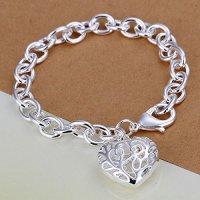 Ayyara Gem aquarius bracelet new menlove girl bracelets bangle one direction heart charm bracelet PCH269