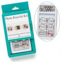 Crystal Innovations Photo Bracelet Kit Heart Rose Swarovski Crystal