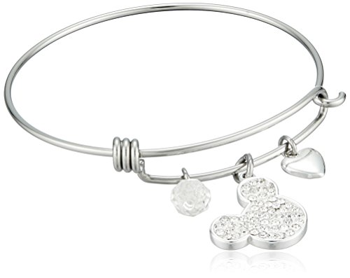 Rembrandt Initial H Charm Expandable Wire Confident Bangle Sterling Silver