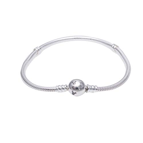 1x Sterling Silver Queen Bee Cz Seashell Pearl Bead For European Charm Bracelets