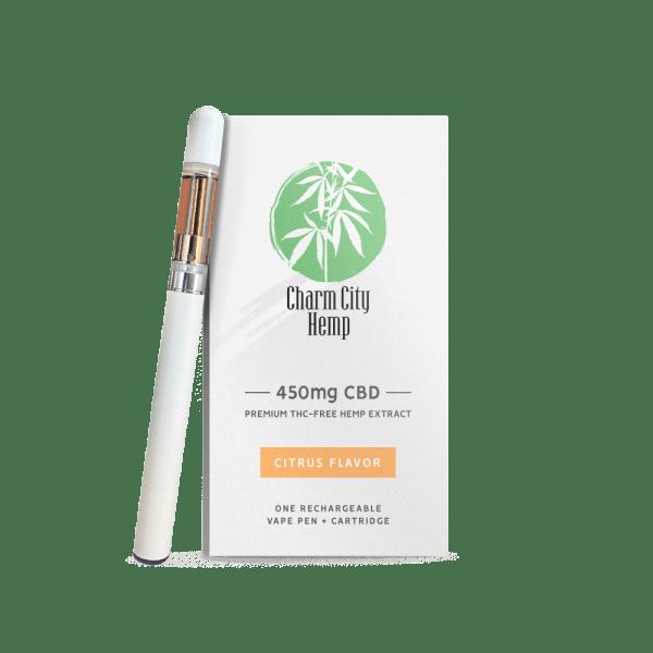 Charm City Hemp CBD Vape Pen + Cartridge