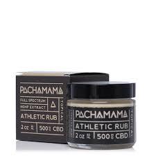 Pachamama CBD Athletic Rub