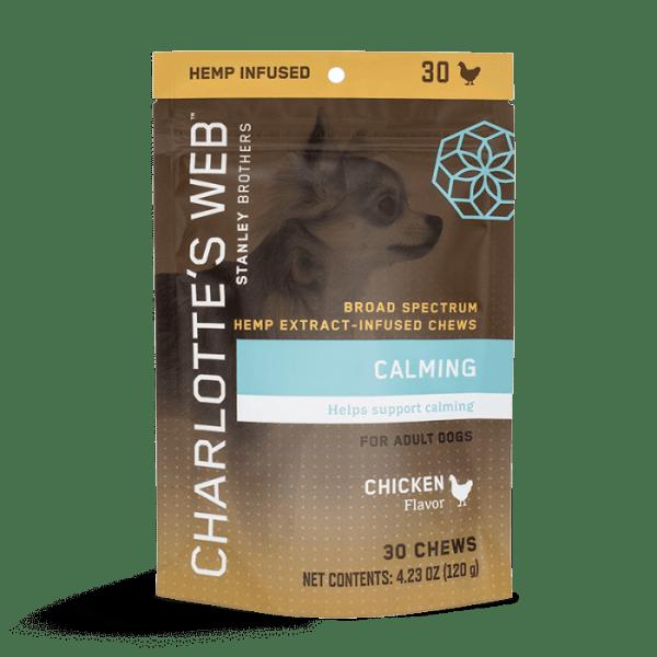 Charlotte's Web Calming CBD Dog Treats