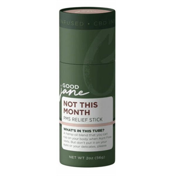 "Good Jane ""Not This Month"" CBD PMS Stick"