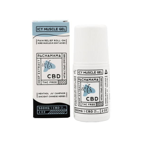 Pachamama CBD Icy Muscle Roll On