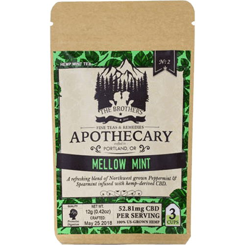 Brother's Apothecary CBD Tea