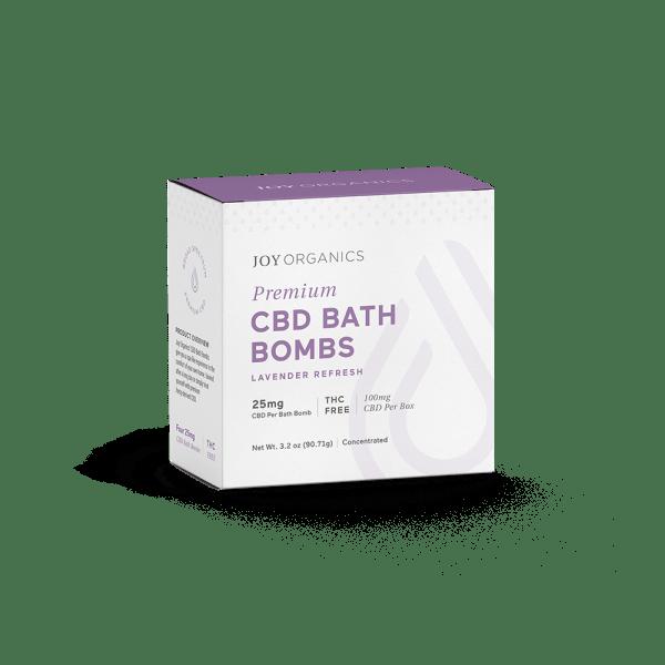 Joy Organics Premium CBD Bath Bombs