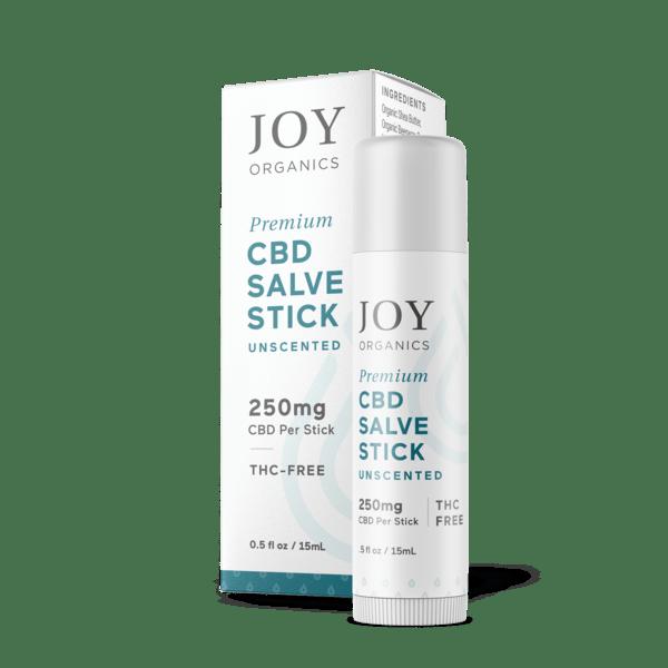 Joy Organics Premium CBD Salve Stick 250mg