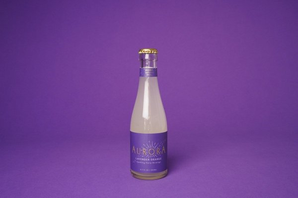 Aurora CBD Elixirs 4-Pack Lavender Orange
