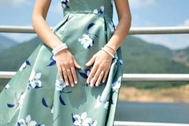 A BELEZA DO MAXI DRESS FLORAL