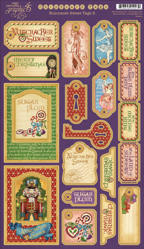 Charmed Cards Amp Crafts Graphic 45 Nutcracker Sweet