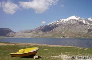 Il Lago del matese nel Parco regionale del Matese