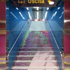 Stazione Università, opera di Karim Rashid