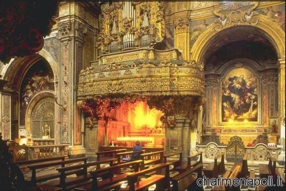 Chiesa di San Gregorio, la tomba di Santa Patrizia