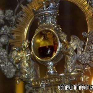 Ampolla contenente il sangue di San Gennaro