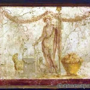 affresco Dioniso iAntiquarium di Boscoreale