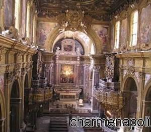 Interno della Chiesa di San Gregorio Armeno