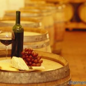 Del vino su botte