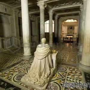 Cripta di San Gennaro crypt, Duomo di Napoli, Naples, Campania, Italy, Europe