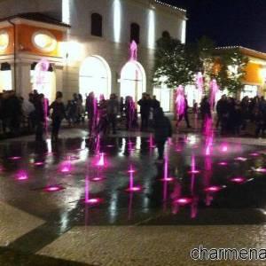 La fontana della Reggia Designer Outlet