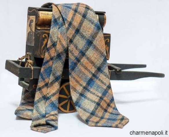 Cappelli wool hand made ties on Naples 2