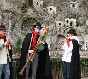 Zampognari ad Amalfi