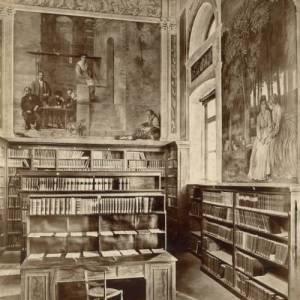 La vecchia sala della biblioteca
