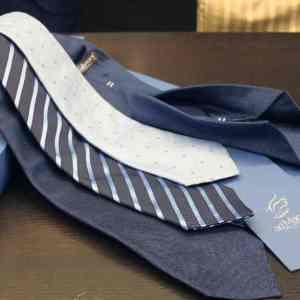 Ad Maiora cravatte fatte a mano da Real Luxury