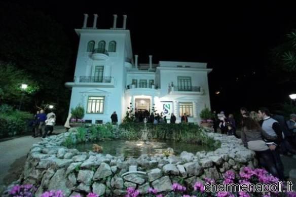 Villa Fiorentino a Sorrento vista di notte