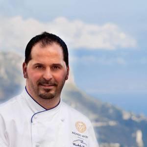 Lo chef Michele Deleo