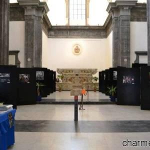 Una mostra presepiale allestita negli spazi del complesso di San Severo al Pendino
