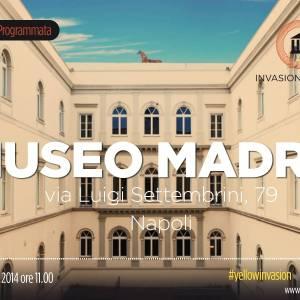 Invasioni digitali al museo Madre di Napoli