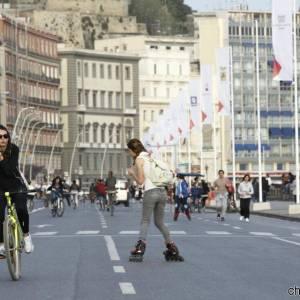 Napoli, il Lungomare Liberato