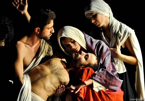 Tableaux Vivants Napoli Caravaggio