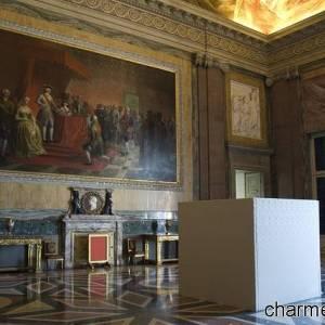Reggia di Caserta, la sala dei quadri