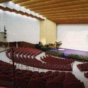 La sala del Teatro Mediterraneo di Napoli