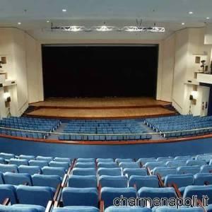 """Il palco del teatro """"Gesualdo"""" di Avellino"""