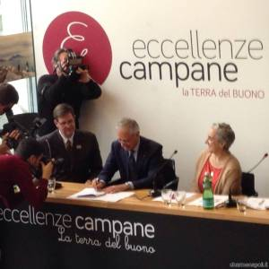 Eccellence Campane sponsor del padiglione Usa a Expo 2015, la firma dell'accordo