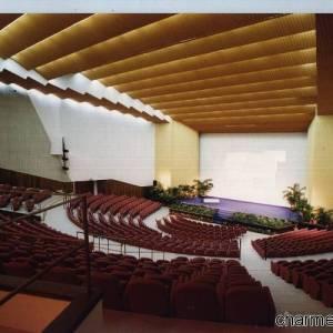 L'auditorium del Teatro Mediterraneo nella Mostra d'Oltremare di Napoli